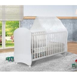ZN- CUNA INFANTIL SIMPLE BLANCA