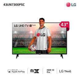 """TELEVISOR LG 43"""" SMART 4K UN7300"""