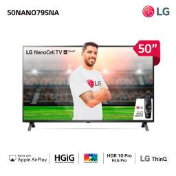 "TELEVISOR LG SMART 50"" NANOCEL 50NANO79SNA"