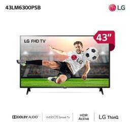 """TELEVISOR LG 43"""" LED FHD SMART 43LM6300PSB"""
