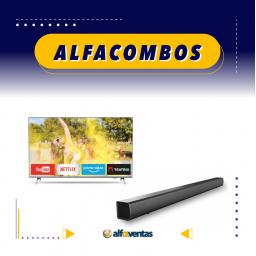 COMBO SMART TV 50 + BARRA DE SONIDO PHILIPS