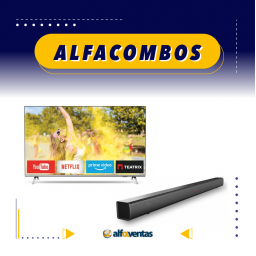 COMBO SMART TV 58 + BARRA DE SONIDO PHILIPS
