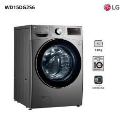 LAVASECARROPAS LG INVERTER WD15DG2S6 15 KG