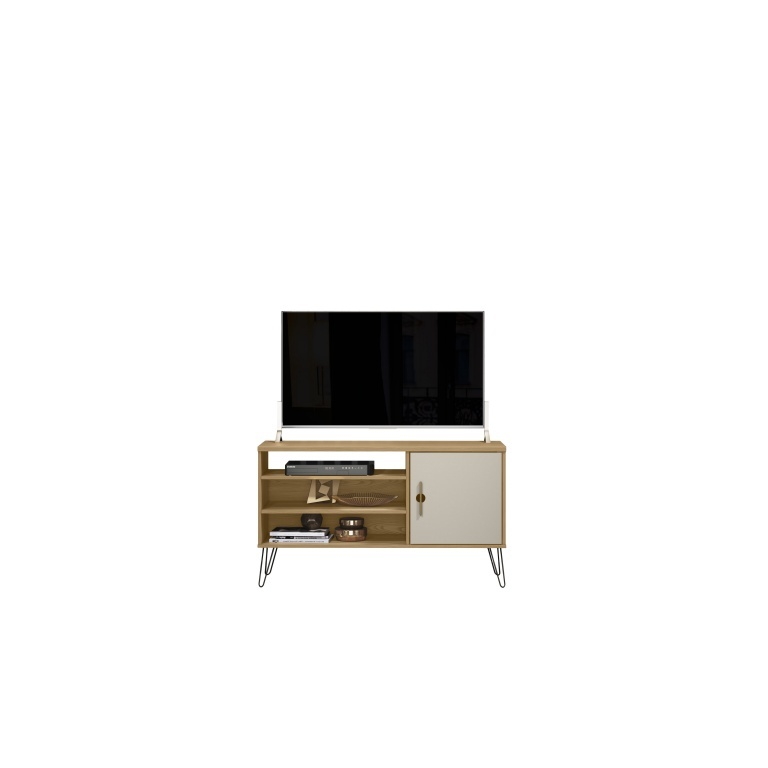LINEA RACK PARA TV PARATY CARVALHO/OFF WHITE
