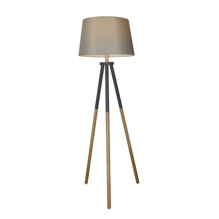 LAMPARA DE PIE SHELBYS 1L E27